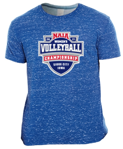 Short Sleeve Performance Tee / Royal Blizzard
