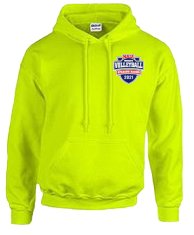 Cotton Hoody / Safety Green