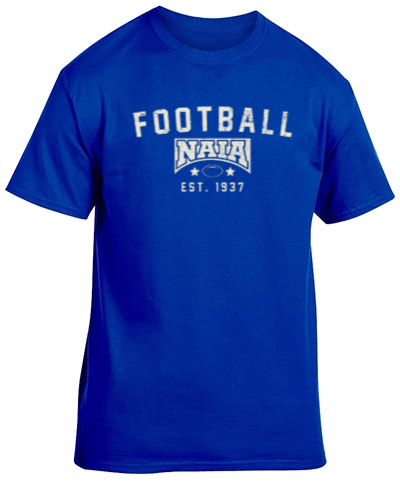 Cotton Short Sleeve T-Shirt / Royal