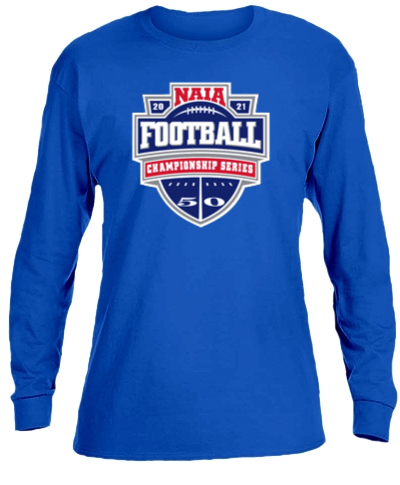 Cotton Long Sleeve T-Shirt / Royal Blue