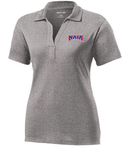 Ladies Performance Polo / Gray