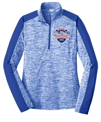 1/4 Zip Performance Pullover / Electric Royal