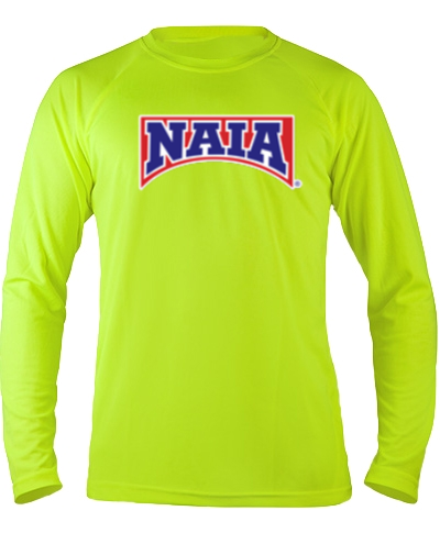 Long Sleeve Performance Tee / Safety Green