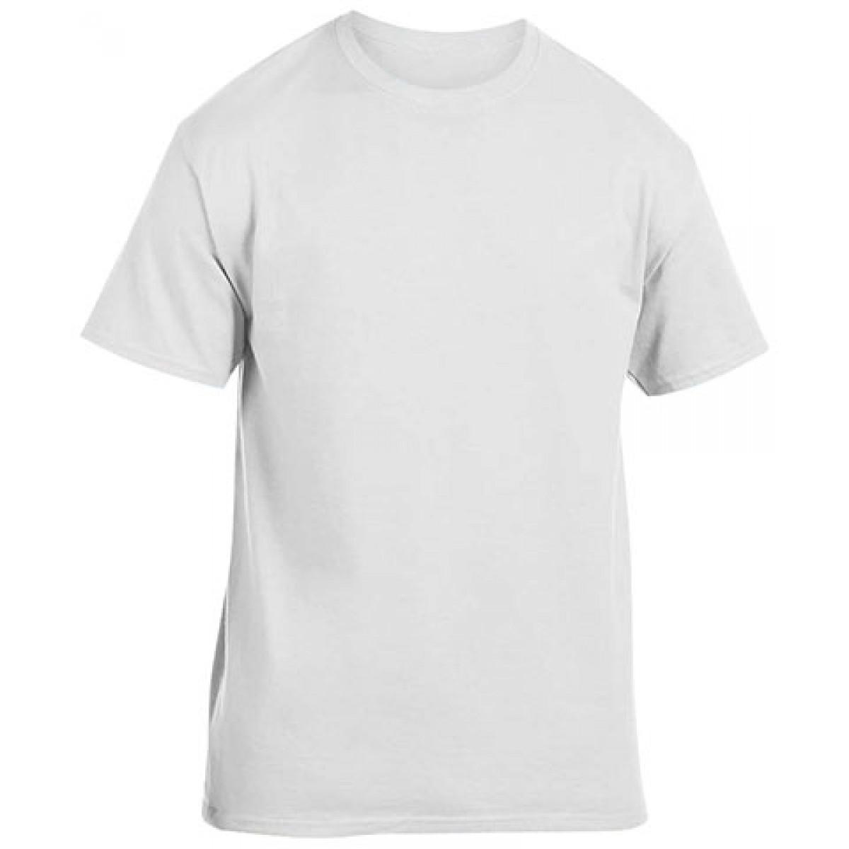 Heavy Cotton Activewear T-Shirt-White-M