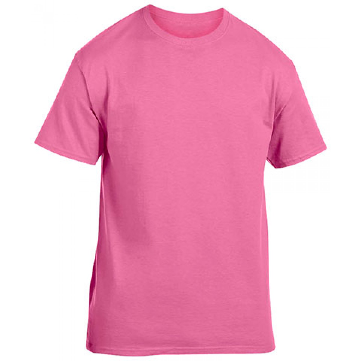 Heavy Cotton Activewear T-Shirt-Safety Pink-XL