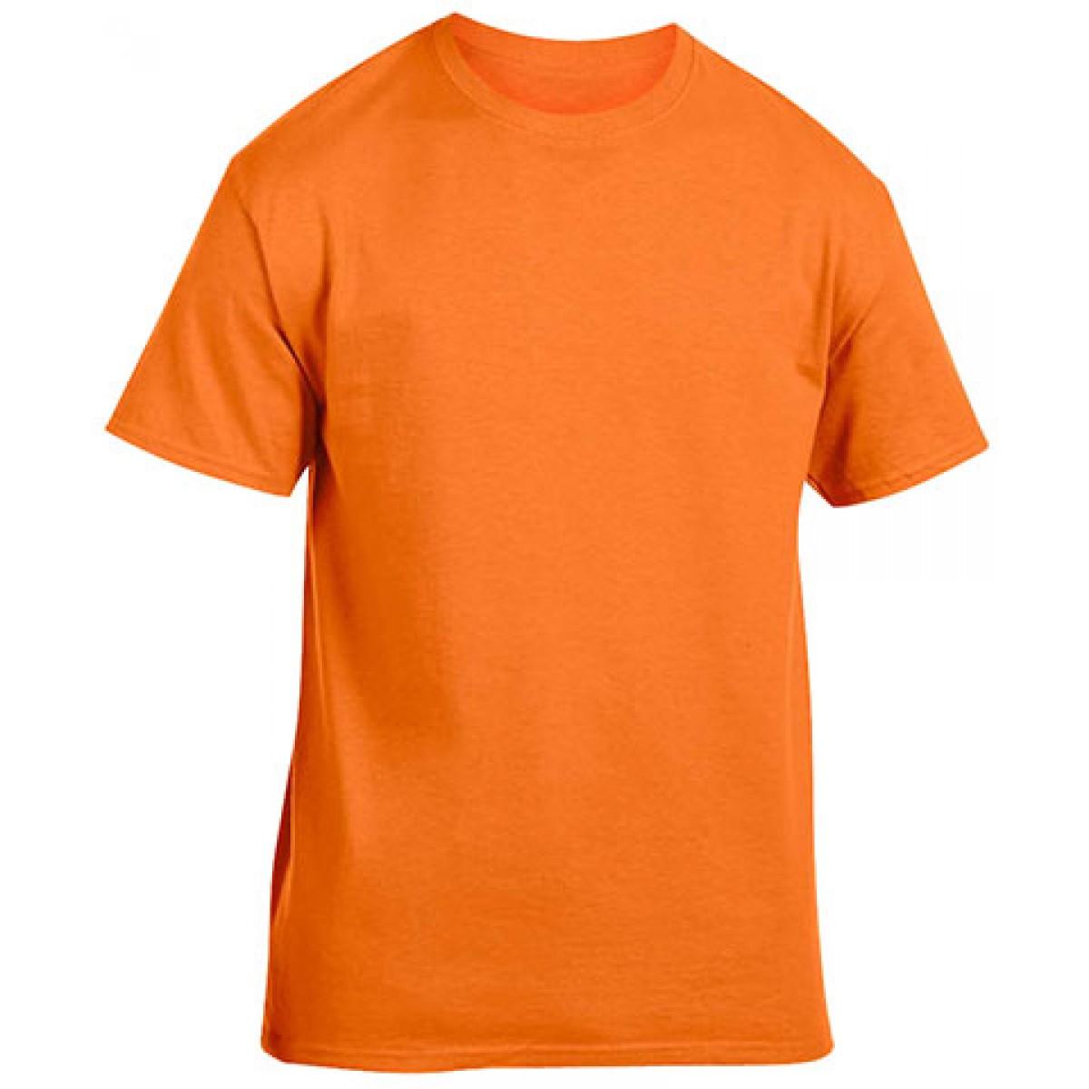 Heavy Cotton Activewear T-Shirt-Safety Orange-M