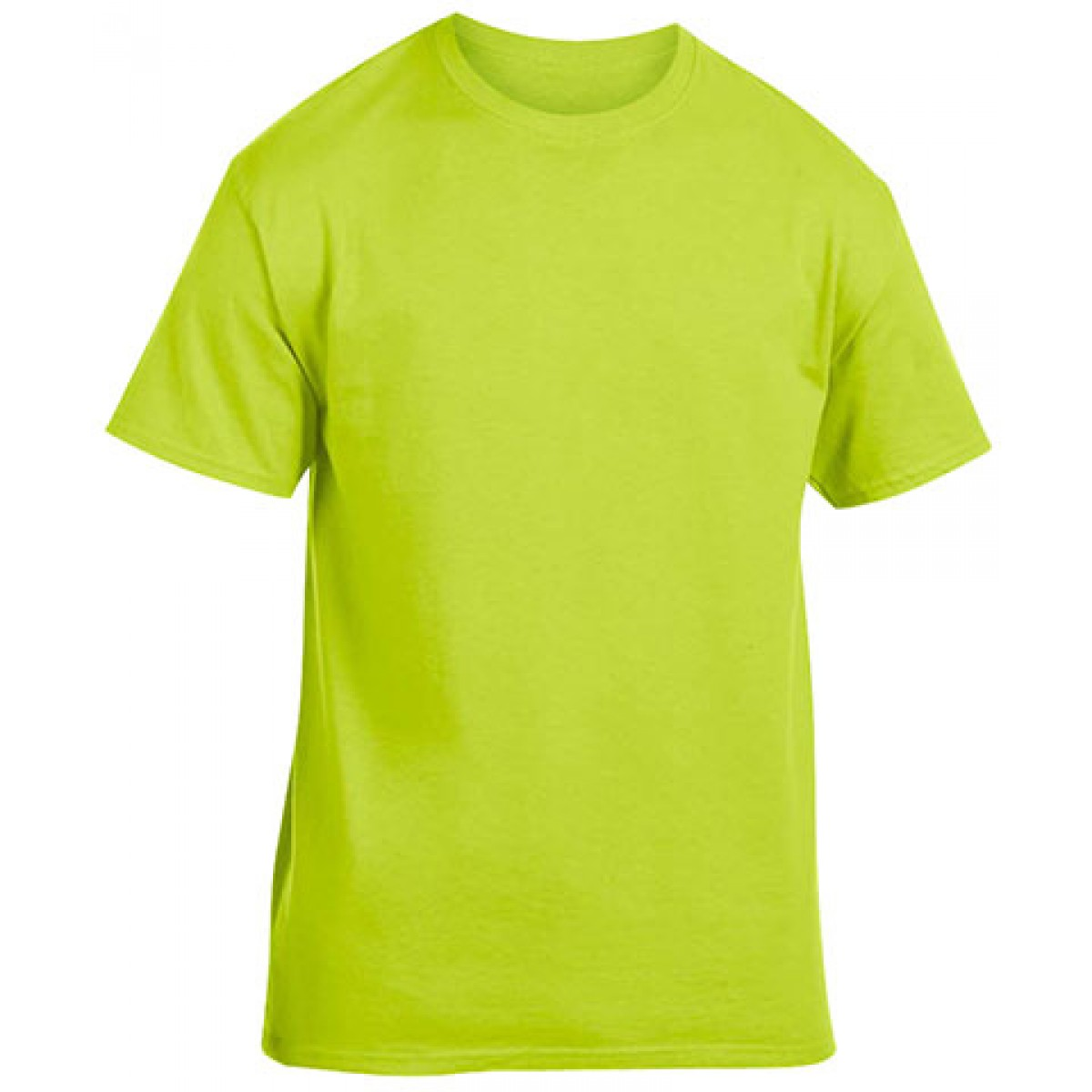 Heavy Cotton Activewear T-Shirt-Safety Green-M