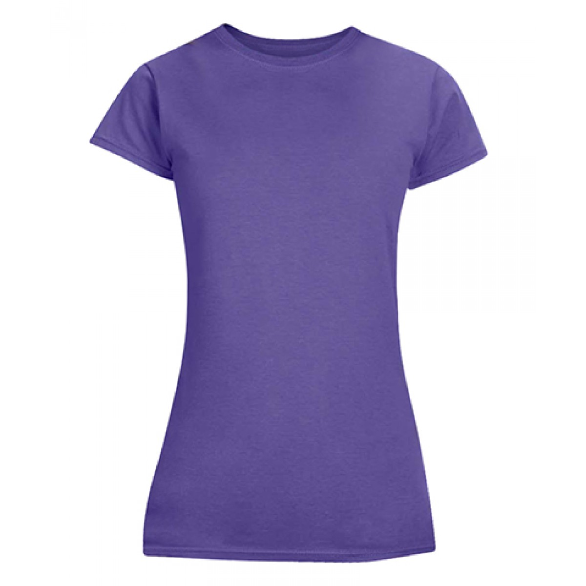 Junior Fit T-Shirt-Purple-2XL