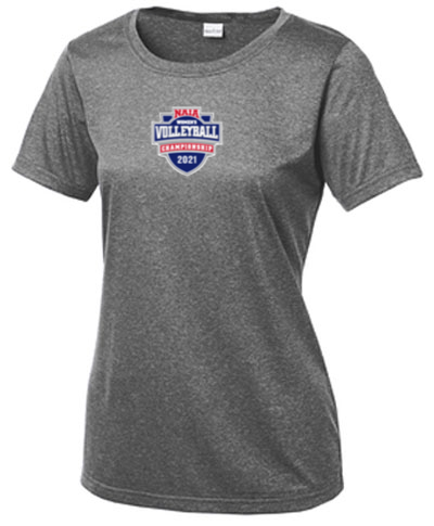 Ladies Scoop Tee / Gray