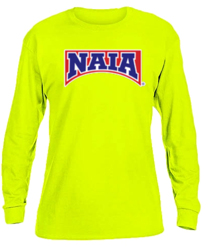 Cotton Long Sleeve T-Shirt / Safety Green