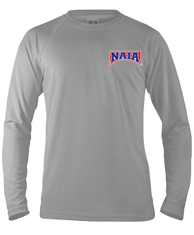 Long Sleeve Performance Tee / Silver