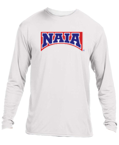 Long Sleeve Performance Tee / White